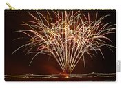 Fireworks At Tempe Town Lake  Carry-all Pouch by Saija  Lehtonen