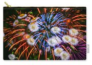 Fireworks Flower Abstract Carry-all Pouch