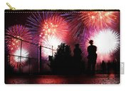 Fireworks Carry-all Pouch by Nishanth Gopinathan