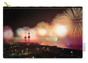 Fireworks Over Kuwait City Carry-all Pouch