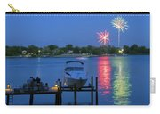 Fireworks Over Stony Creek Carry-all Pouch by Brian Wallace