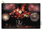 Fireworks Over The Delaware Carry-all Pouch by Nick Zelinsky