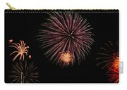 Fireworks Panorama Carry-all Pouch by Bill Cannon