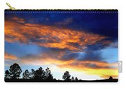 Firey Sunset Of Angel Fire Carry-all Pouch