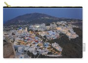 Firostefani At Night Santorini Cyclades Greece  Carry-all Pouch