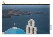 Firostefani Church On Santorini Carry-all Pouch