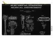 First Electric Guitar 2 Patent Art  1937 Carry-all Pouch