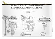 First Electric Guitar Patent Art  1937 Carry-all Pouch