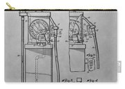 First Gas Pump Patent Drawing Carry-all Pouch