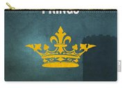 First Kings Books Of The Bible Series Old Testament Minimal Poster Art Number 11 Carry-all Pouch by Design Turnpike