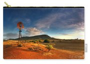 First Light On Wilpena Pound Carry-all Pouch