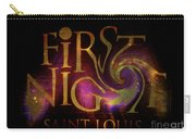 First Night St. Louis In Space Carry-all Pouch