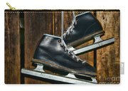 First Pair Of Ice Skates Carry-all Pouch