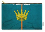 First Samuel Books Of The Bible Series Old Testament Minimal Poster Art Number 9 Carry-all Pouch by Design Turnpike
