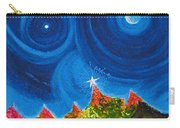 First Star Christmas Wish By Jrr Carry-all Pouch by First Star Art
