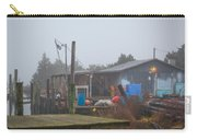 Fish House In Fog Carry-all Pouch