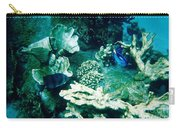 Fish In The Coral Carry-all Pouch