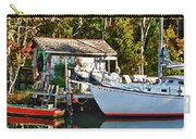 Fish Shack And Invictus Painted Carry-all Pouch