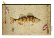 Fish Trio-c-basket Weave Carry-all Pouch