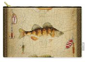 Fish Trio-c-green Carry-all Pouch