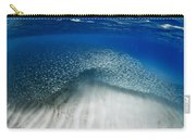 Fish Wave. Carry-all Pouch by Sean Davey