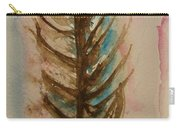 Fishbone Or Feather Carry-all Pouch