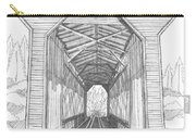 Fisher Railroad Covered Bridge Carry-all Pouch
