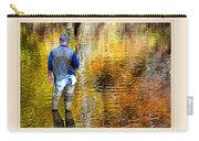 Fisherman In Autumn Carry-all Pouch