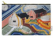 Fishermans Cottages String Collage Carry-all Pouch