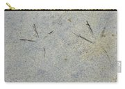Fishermans Foot Prints Carry-all Pouch