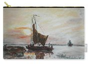 Fishermens Sunset Carry-all Pouch