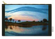 Fisheye Sunset Carry-all Pouch