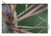 Fishhook Barrel Cactus Spines Carry-all Pouch