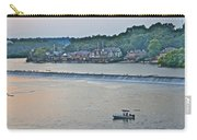 Fishing At Boathouse Row Carry-all Pouch