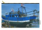 Fishing Boart Repairs Essaouira Morocco Carry-all Pouch by Richard Harpum