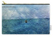 Fishing Boat As A Painting 2 Carry-all Pouch