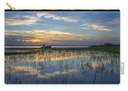 Fishing Boat At The Lake Carry-all Pouch