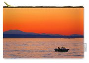 Fishermen At Sunset Puget Sound Washington Carry-all Pouch