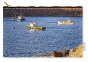 Fishing Boats At Anchor In A Quiet Bay On The Isle Of Skye In Sc Carry-all Pouch