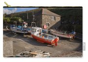 Fishing Boats At Mullion Cove Carry-all Pouch