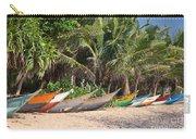 Fishing Boats B Mirissa Beach Carry-all Pouch