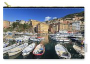 fishing boats in Camogli Carry-all Pouch