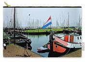 Fishing Boats In Enkhuizen-netherlands Carry-all Pouch
