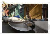 Fishing Boats In Manarola - Cinque Terre Carry-all Pouch