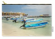 Fishing Boats In Playa Del Carmen Carry-all Pouch