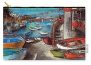 Fishing Boats In Riomaggiore Carry-all Pouch