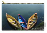 Fishing Boats - Nepal Carry-all Pouch