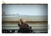 Fishing Buddies Carry-all Pouch by Kathy Barney