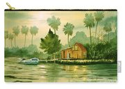 Fishing Cabin - Aucilla River Carry-all Pouch
