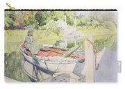 Fishing Carry-all Pouch by Carl Larsson